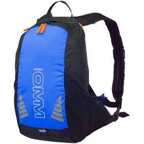 OMM Ultra 8 Rygsæk, sort/blå